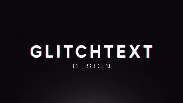 Glitch Intro: After Effects Templates