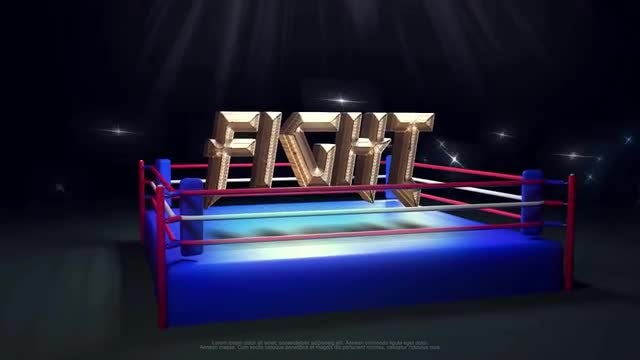 Fight Intro: After Effects Templates