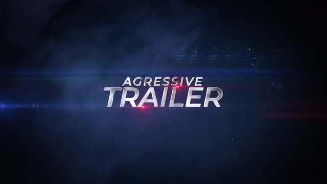 Aggressive Trailer: After Effects Templates