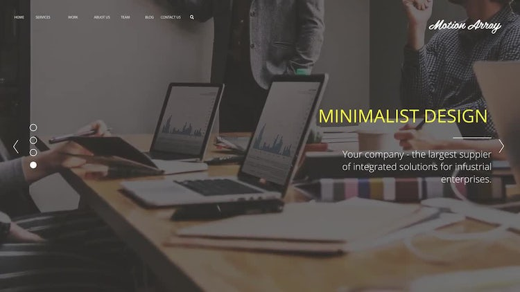 Minimalism Corporate Presentation: After Effects Templates