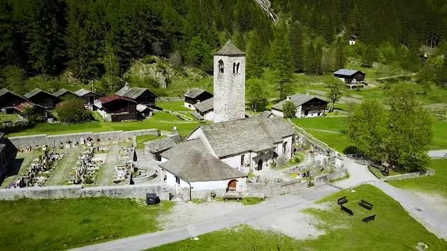 Italian Church: Stock Video