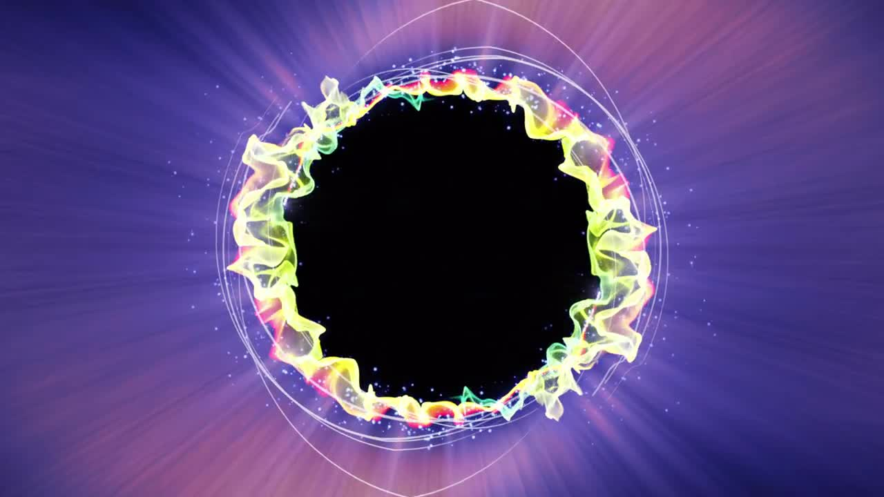 Magical Energy Swirling Current - Stock Motion Graphics