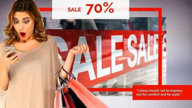 Market - Sale Promo: After Effects Templates