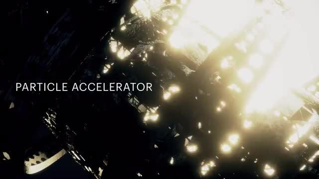 Particle Accelerator Video Loops: Stock Motion Graphics
