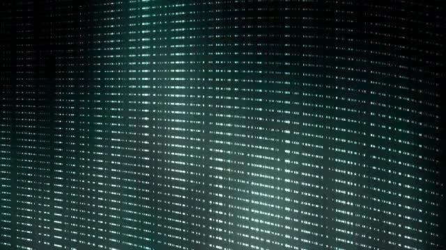Blue Lights Undulating Background: Stock Motion Graphics