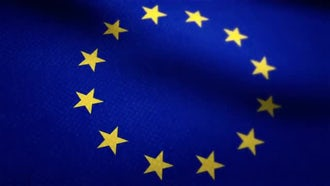 European Union Flag: Motion Graphics