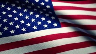 USA Flag: Motion Graphics
