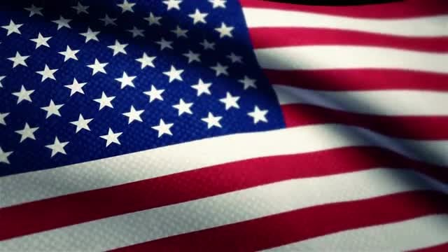 USA Flag: Stock Motion Graphics