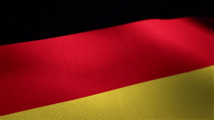 Germany Flag: Motion Graphics