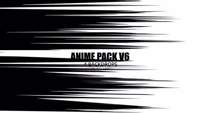 Anime Pack V6: Stock Motion Graphics
