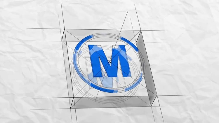 Sketch 3d Logo: After Effects Templates