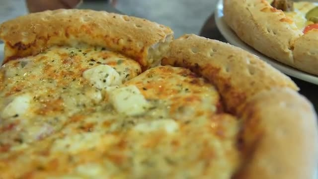 Cheese Pizza: Stock Video