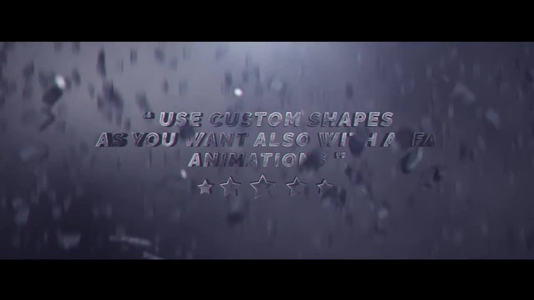 Cracked Title Design: After Effects Templates