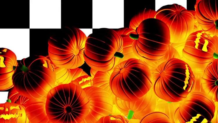 Halloween Pumpkins Transition: Motion Graphics