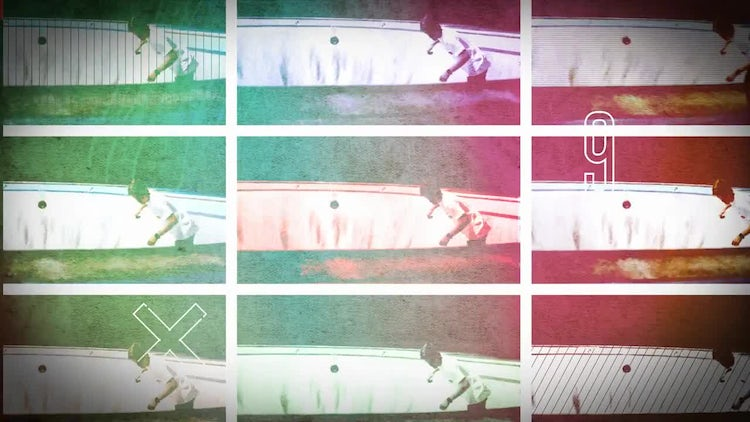 Colorful Glitch Opener: After Effects Templates