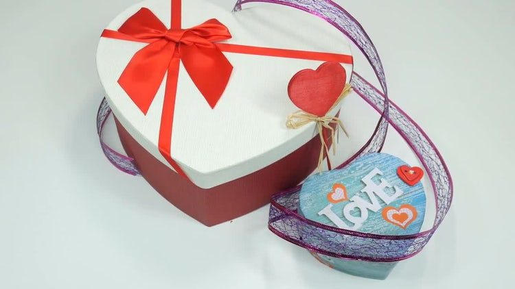 Valentine's Day Chocolates: Stock Video
