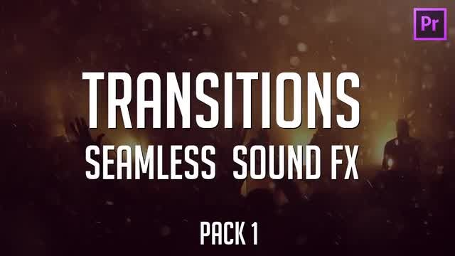 Action Seamless Transitions Pack 1: Premiere Pro Templates