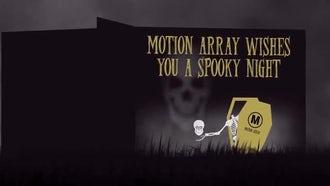 Halloween Carrousel: After Effects Templates