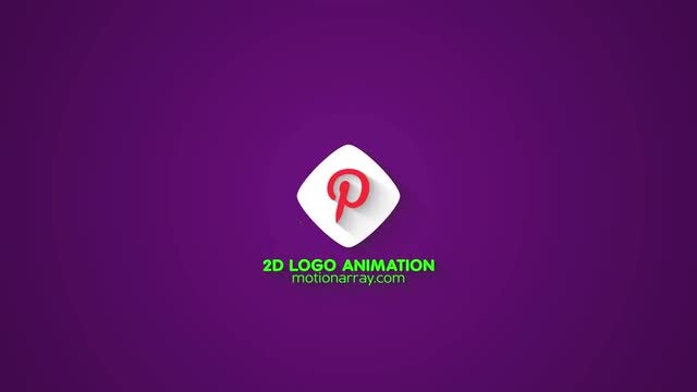 2D Logo Animation: After Effects Templates