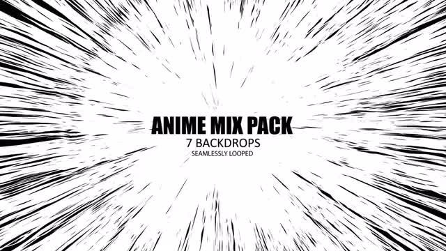 Anime Mixed Pack: Stock Motion Graphics