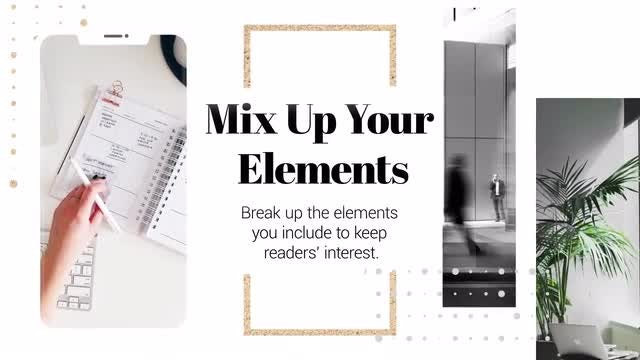 Minimal Company Presentation: After Effects Templates