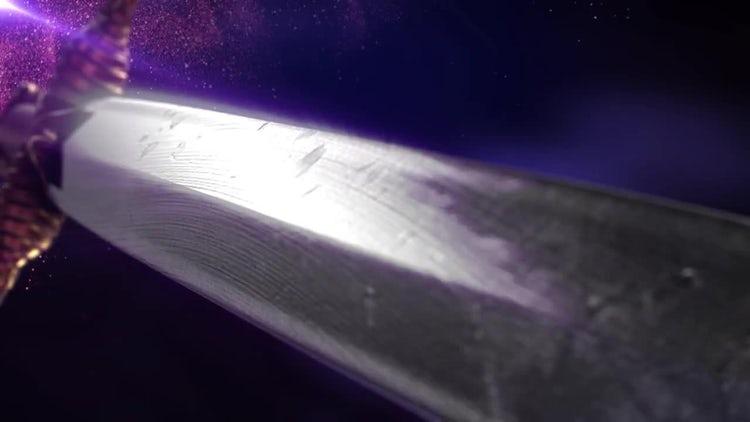 Battle Sword Background Loop 2: Stock Motion Graphics