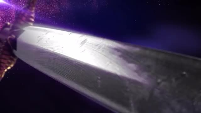 Battle Sword Background Loop 2: Stock Motion Graphics