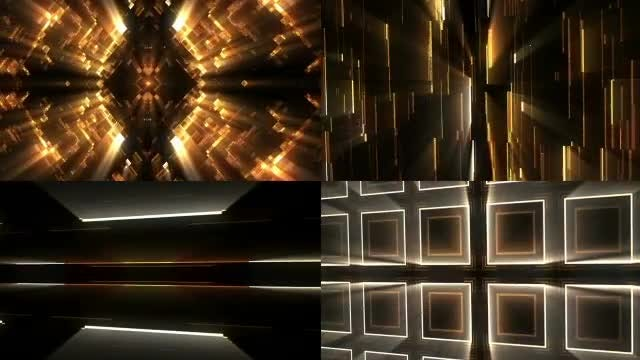 Shiny Glowing Backgrounds: Stock Motion Graphics