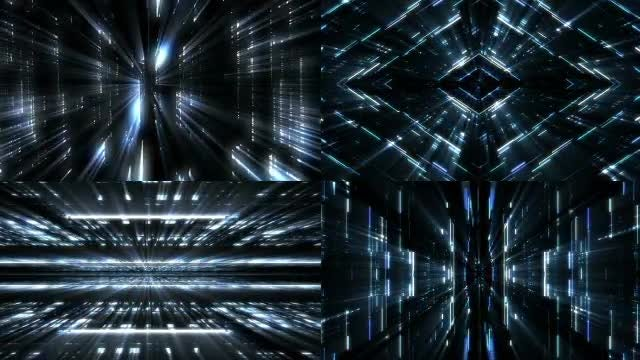 Futuristic Lights Backgrounds: Stock Motion Graphics