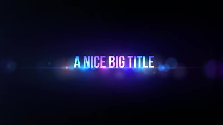 Smooth Titles: Premiere Pro Templates