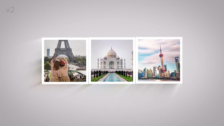 Minimal Photo Logo 3 Versions: After Effects Templates