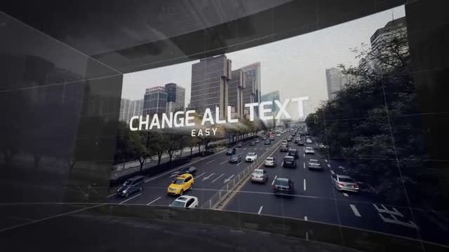 3D Video Wall: After Effects Templates