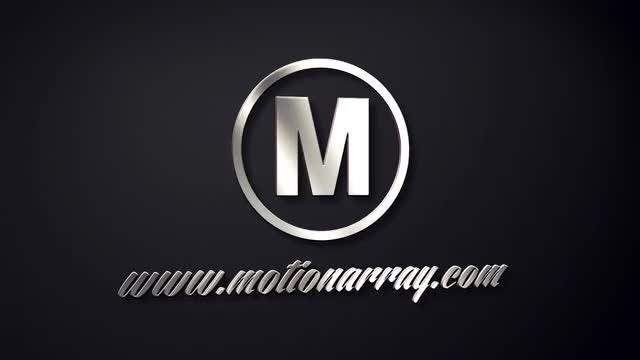 Classic 3D Metal Logo: After Effects Templates