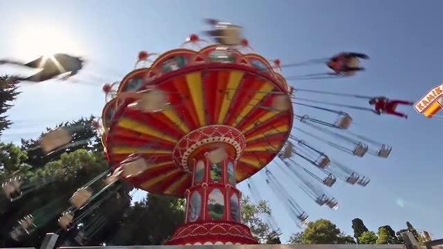 Carnival Swings: Stock Video