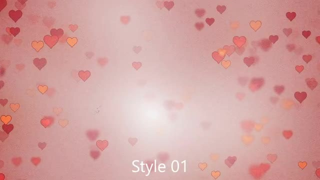 Heart Retro: Stock Motion Graphics