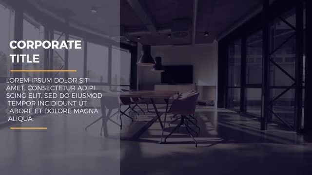 Classic Corporate Titles: After Effects Templates