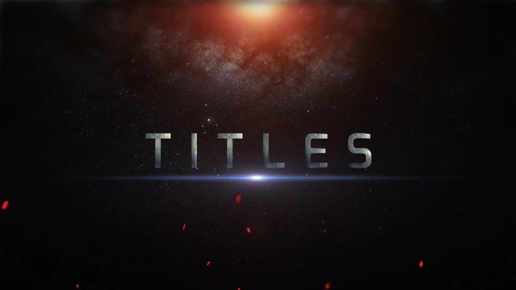 Epic Horror Titles: Premiere Pro Templates