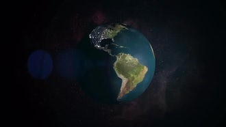 Earth Day Night: Motion Graphics