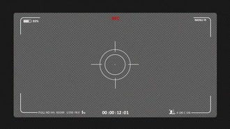 Camera Recording Screen 03: Motion Graphics