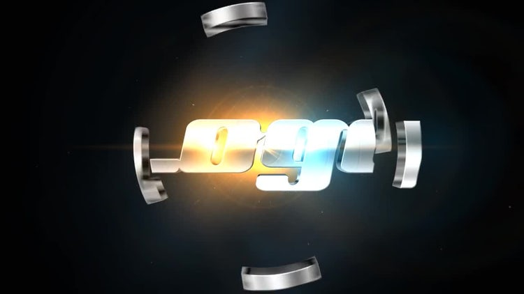 Tech Space Logo: After Effects Templates