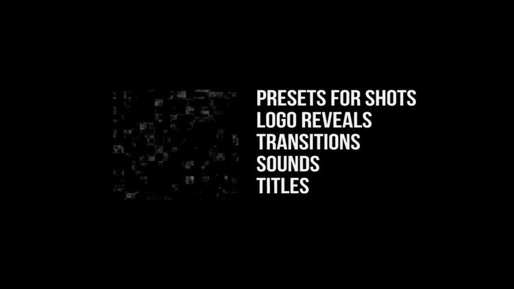 Glitch Pack: Premiere Pro Templates