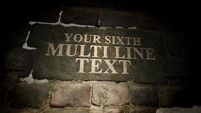 Text On Stones: Motion Graphics Templates