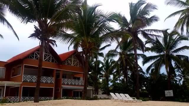 Dominican Republic Beach House: Stock Video