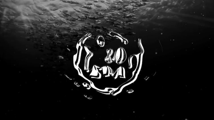 Under The Water Logo: After Effects Templates
