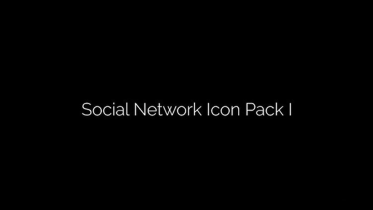 Social Network Logo: After Effects Templates
