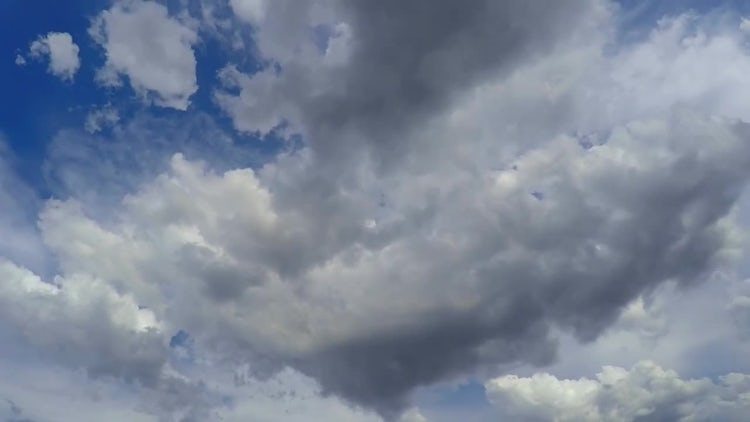 How Clouds Are Born: Stock Video