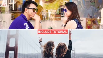 Clean Slide Show: After Effects Templates