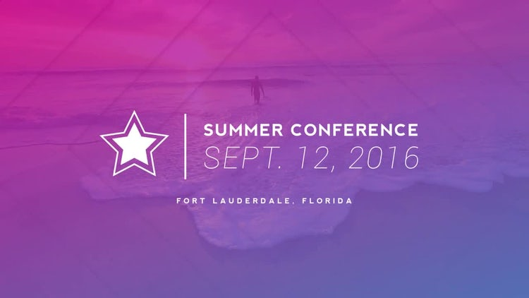 Event Conference Promo: After Effects Templates