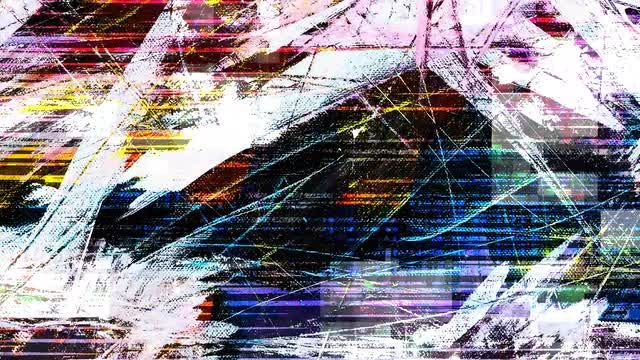 Multi-Color Glitch: Stock Motion Graphics