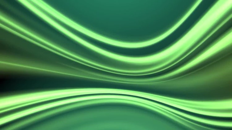 Green Abstraction Flow: Stock Motion Graphics